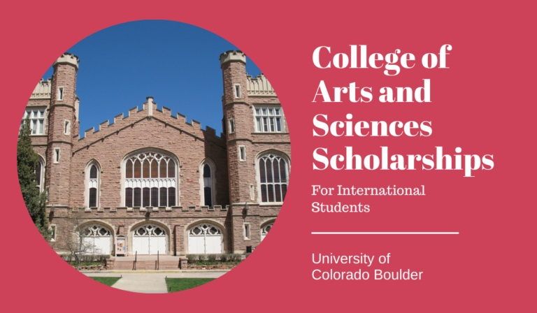 200 College of Arts and Sciences International awards at CU Boulder in USA, 2021